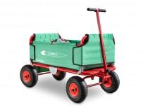 Eckla Express faltbarer Bollerwagen Luftbereifung grün