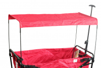 Dach für Bollerwagen Lars faltbar rot