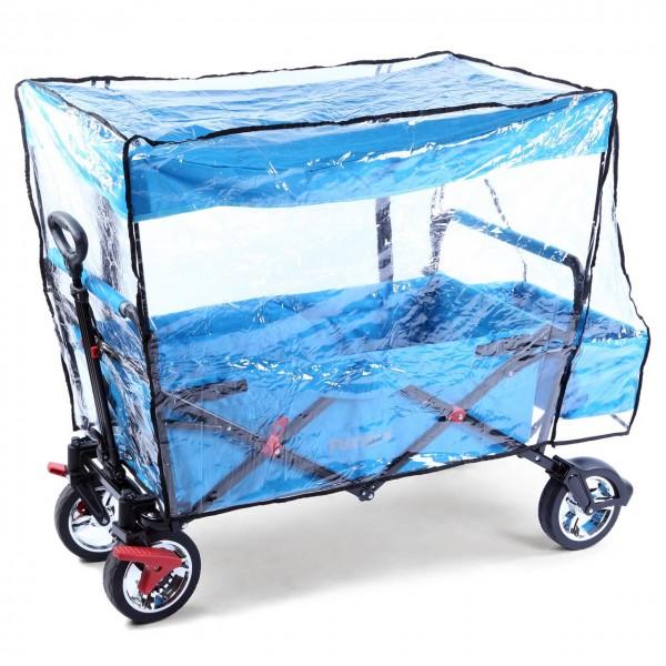 FUXTEC Regenschutz transparent für Bollerwagen CT500