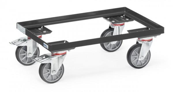 "Fetra 13580 7016 Eurokasten-Roller ""GREY EDITION"" 250 kg, offener Rahmen"
