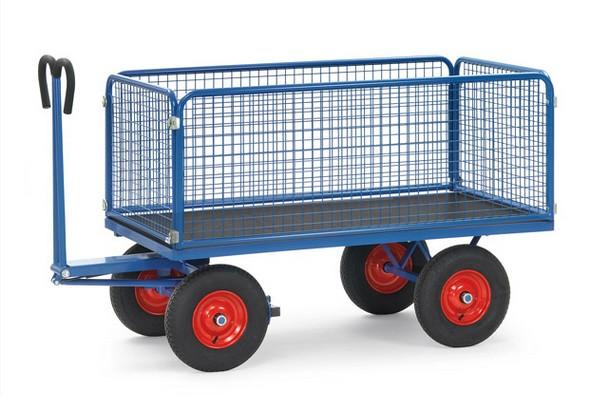 Fetra 6433/6434/6435/6436 Handpritschenwagen mit Drahtgitterwänden