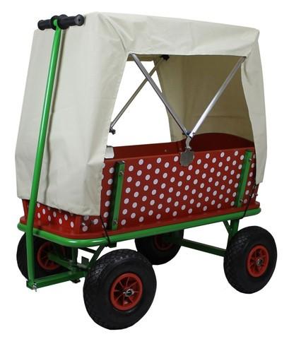 Faltverdeck für Beachtrekker Bollerwagen Style Plane