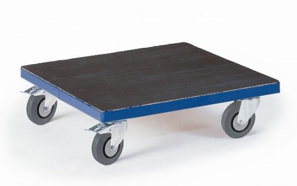ROLLCART Breiter Kistenroller mit Riffelgummi, 250 kg Tragkraft, 03-4047
