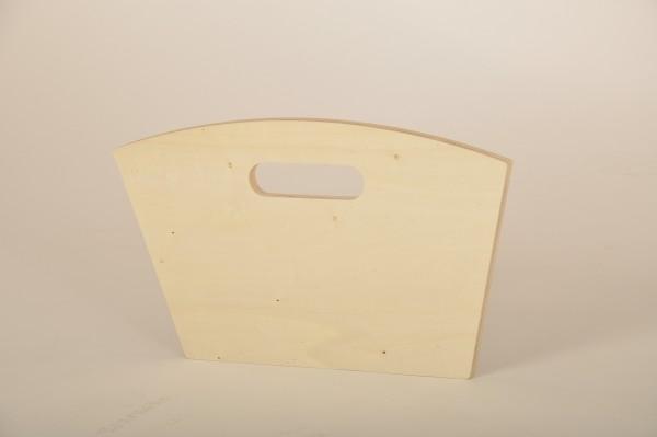 Vorderwand oder Rückwand aus Holz