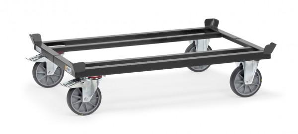 Fetra 23799 23800 23801 23802 ESD-Paletten-Fahrgestell für Flachpaletten und Gitterboxen, 750 kg