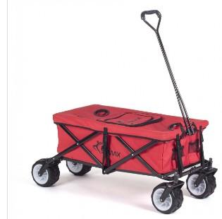 SAMAX Faltbarer Bollerwagen Offroad Cool - Rot