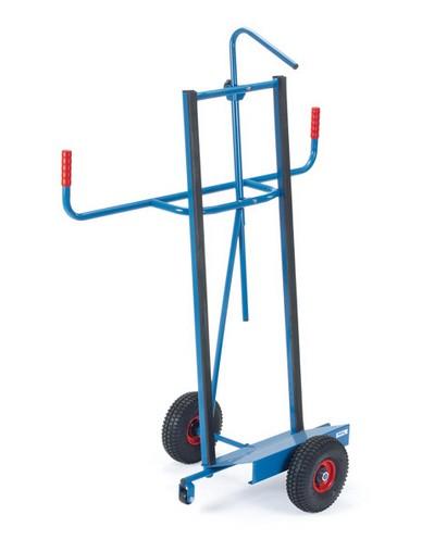 Fetra 2075/2076 Plattenkarre mit Profilgummi und Kippsicherung, bis 400 kg, zum Längstransport
