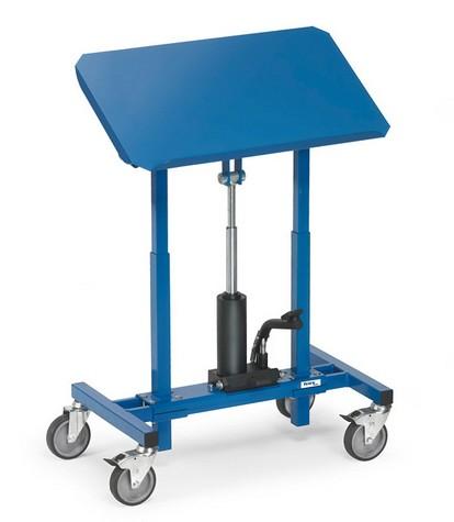 Fetra 3286 Materialständer, 250 kg, höhenverstellbar von 720 – 1080 mm, neigbar