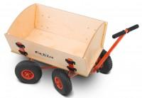 Bollerwagen Eckla Fun Trailer Long Hinterachslenkung pannensichere Bereifung