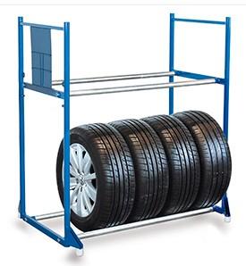 VARIOfit Basis-Reifenregal und Reifenwagen, sw-646.003/sw-646.004