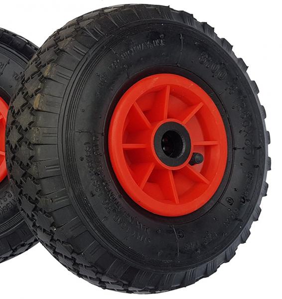 Ersatzrad Nabe 25mm/75mm - Rad für Bollerwagen oder Sackkarre Luftrad