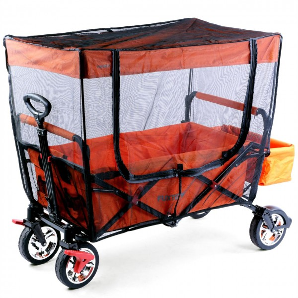 FUXTEC Sonnenschutz/Insektenschutz für Bollerwagen CT800/CT850