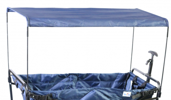 Dach für Bollerwagen Nick faltbar blau