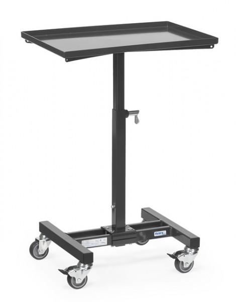 "Fetra 3270 7016 Materialständer ""GREY EDITION"" 150 kg, höhenverstellbar von 720-995 mm"