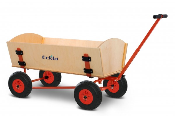 Bollerwagen Eckla Fun Trailer Long Hinterachslenkung