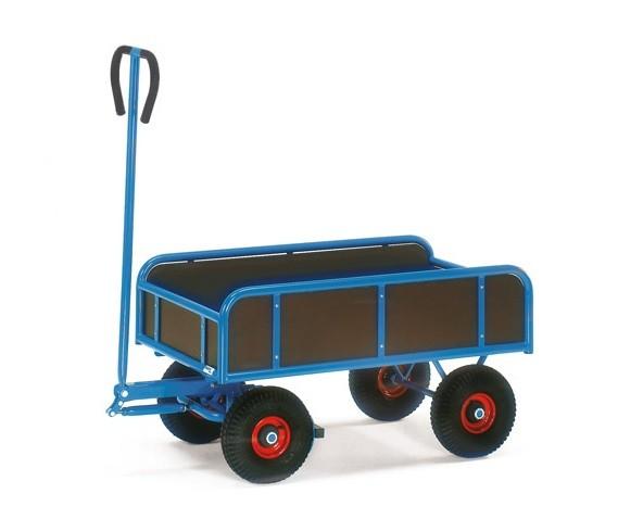Fetra 4122/4122V/4124/4124V Handwagen 2 Achser mit vier Wänden, 400 kg