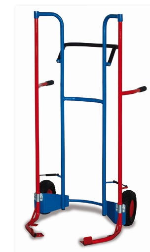 ROLLCART Reifenkarre mit Hebelsystem, 240 kg Tragkraft, 229741 229742