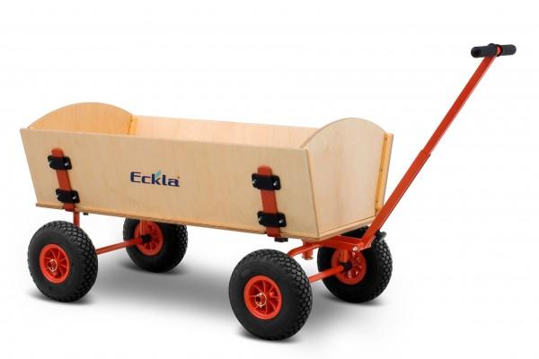 Bollerwagen Eckla Long Trailer pannensichere Bereifung