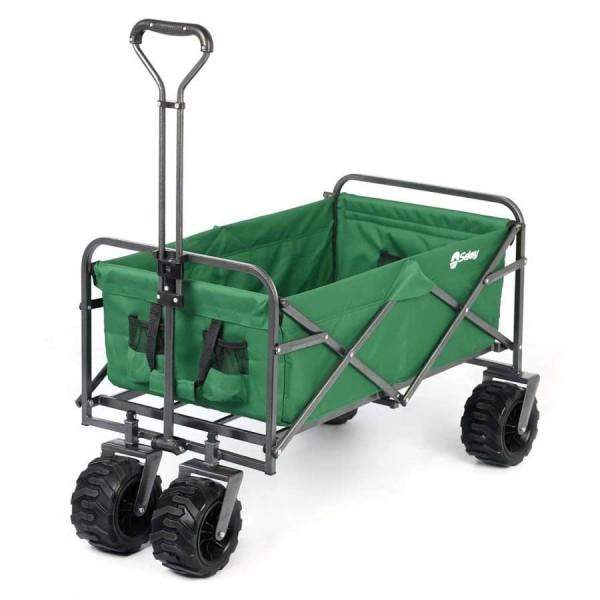 Sekey faltbarer Bollerwagen in grün
