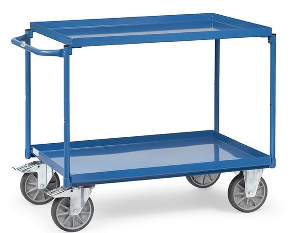 Fetra Tischwagen 4820/4822 mit zwei Wannen