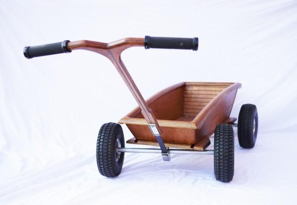 Büxenwulf Bollerwagen Premium Handarbeit