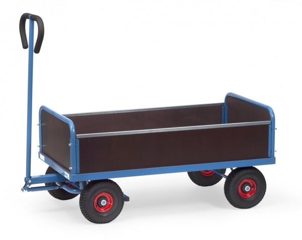 Fetra 4051 4051V 4052 4052V Handwagen mit vier Wänden, 500 kg