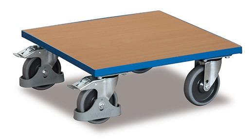 VARIOfit Kistenroller mit Holzladefläche, sw-500.011