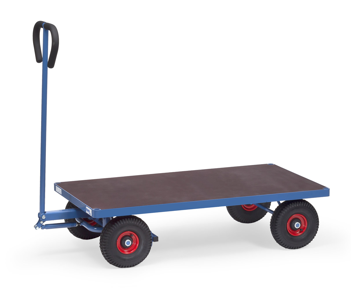 fetra 4001 4001v 4002 4002v handwagen mit plattform 500 kg handwagen transportwagen. Black Bedroom Furniture Sets. Home Design Ideas