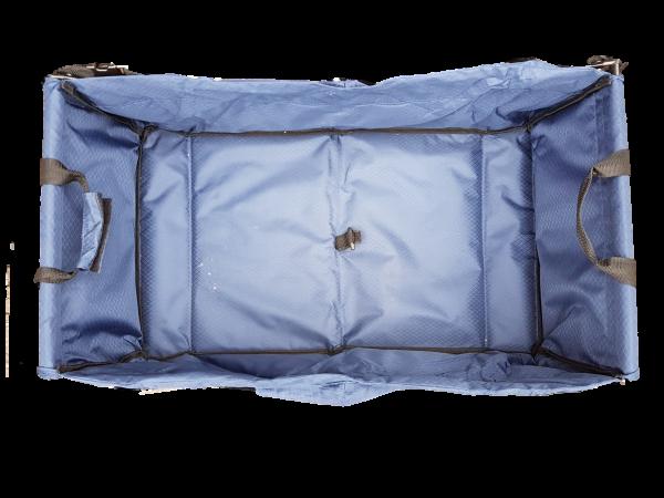 Textilbezug Bollerwagen Nick und Bel Sol blau