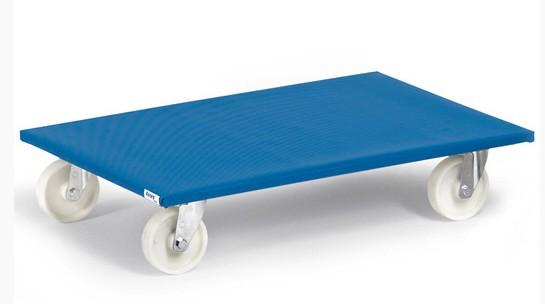 Fetra 2359 Möbelroller 600 kg, mit Rutschschutzbelag