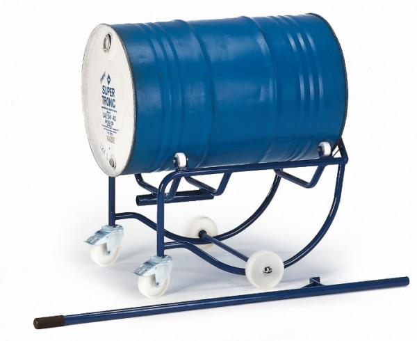 ROLLCART Fasskipper, 200 Liter, Polyamid-Rollen, 18-3201