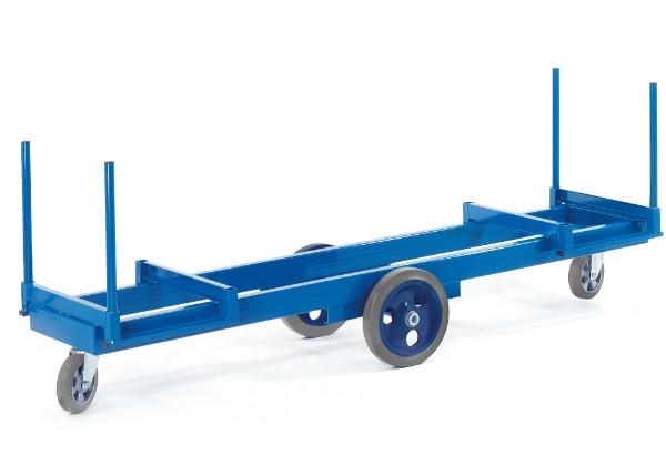 ROLLCART Langmaterialwagen, 2000 kg Tragkraft, 101273 101274