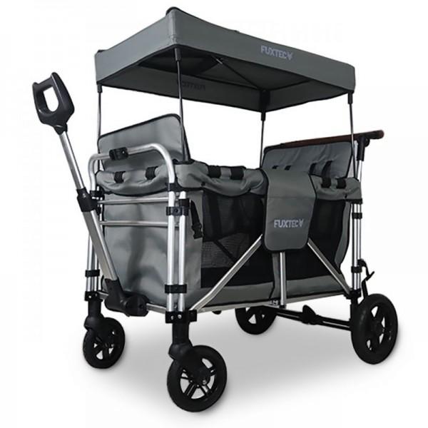 FUXTEC 4-Sitzer XL Luxus Bollerwagen FX-CTXL900 Grau