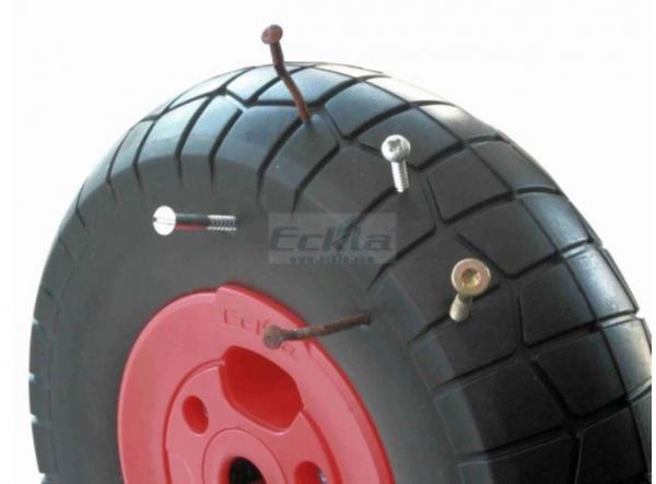 Ersatzrad für Eckla Bollerwagen pannensicher Rollenlager