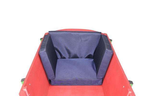 Bollerwagen Sitzkissen Blau