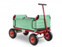 Eckla Express faltbarer Bollerwagen pannensicher grün