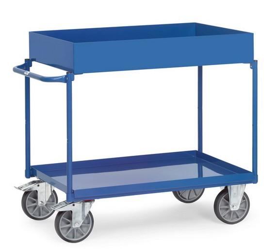 Fetra 4840/4842 Tischwagen mit hoher Wanne