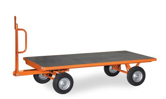Fetra 6386/6387/6388 Industrieanhänger, 3 Tonnen, 1-Achs-Drehschemel-Lenkung