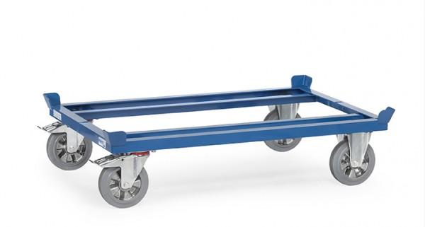 Fetra 22809/22810/22811/22812 Paletten-Fahrgestell, Elastic-Vollgummi-Bereifung, 1200 kg