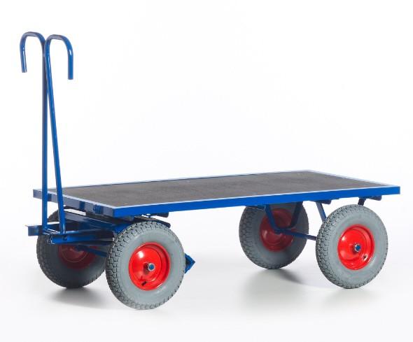 ROLLCART Handpritschenwagen ohne Bordwände, 700 kg Tragkraft, 1505101 1505102 1505121 1505122