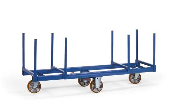 Fetra 2111 Langmaterial-Wagen, 1200 kg, mit Rungen 500 mm lang
