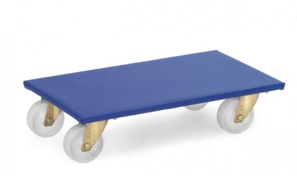 Fetra 2350/2352 Möbelroller bis 500 kg, mit Rutschschutzbelag und Polyamidrädern