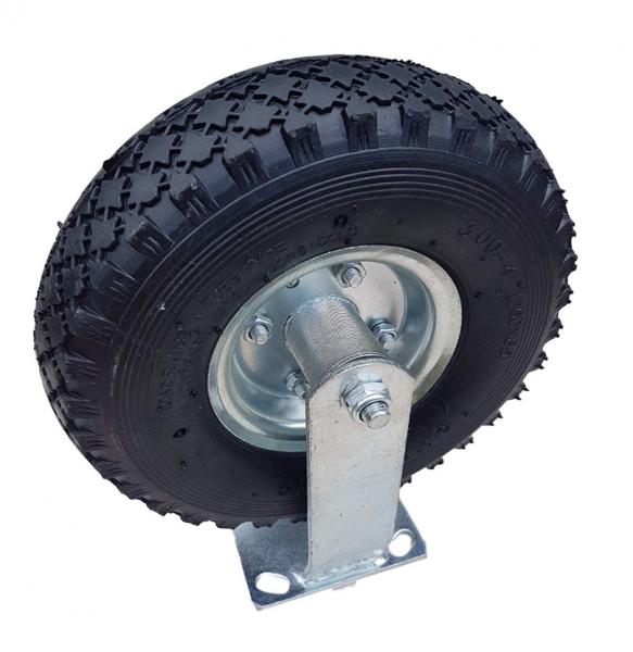 Frosal Bockrolle Ø 260 x 85 mm | 3.00-4 Rad | Luftrad auf Stahlfelge Silber