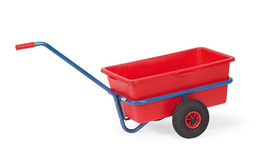 Fetra 4101/4101V/4102/4102V Handwagen mit herausnehmbarer Kunststoffmulde