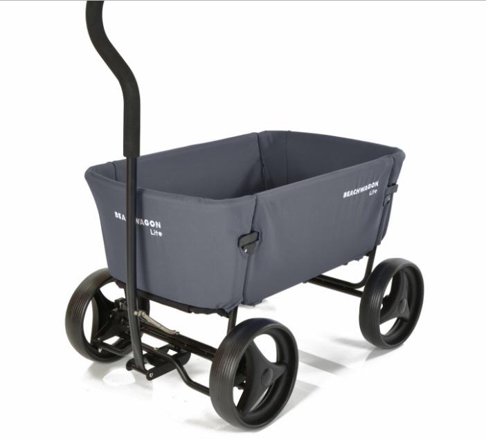 beach wagon lite dunkelgrau bollerwagen faltbar bollerwagen transportwagen. Black Bedroom Furniture Sets. Home Design Ideas