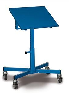 VARIOfit Materialständer, höhenverstellbar 500-770mm, neigbar, sw-405.005