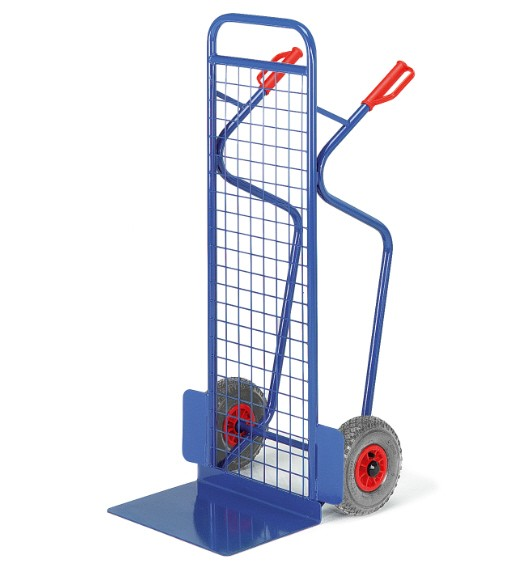 ROLLCART Große Gitter-Stapelkarre, 250 kg Tragkraft, 199471 199472